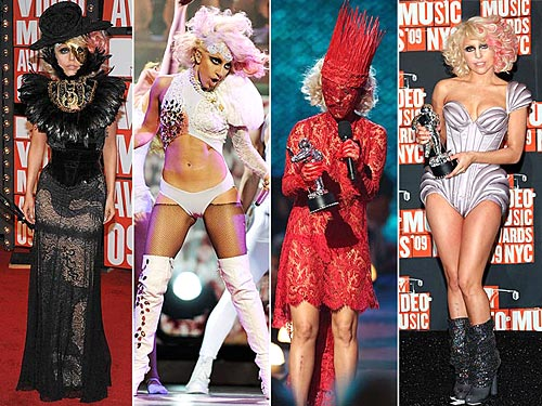 lady gaga outfits kermit. POLL: What Was Lady Gaga#39;s