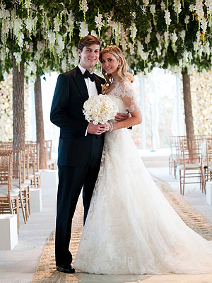 Wedding on The Inside Scoop On Ivanka Trump   S Wedding Gown And Hair     Style