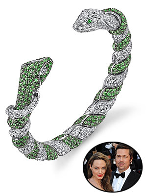 Angelina Jolie And Brad Pitt's New Role: Jewelry Designers - Style News – StyleWatch – People.com :  to angelina jolie brad pitt earrings