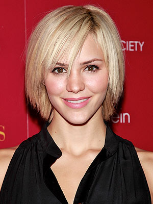 katharine mcphee hair. katharine mcphee short hair. Katharine McPhee Says Blonde