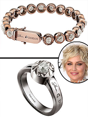 Sharon Stone jewelry collection