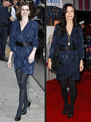 ANNE VS. COURTENEY  photo | Anne Hathaway, Courteney Cox