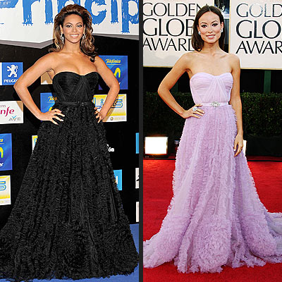 BEYONCÉ VS. OLIVIA  photo | Beyonce Knowles, Olivia Wilde