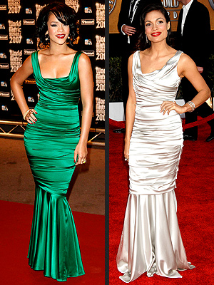 RIHANNA VS. ROSARIO photo | Rihanna, Rosario Dawson