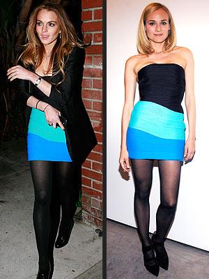 LINDSAY VS. DIANEphoto | Diane Kruger, Lindsay Lohan