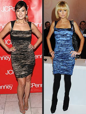 LINDSAY VS. PARIS  photo | Lindsay Price, Paris Hilton