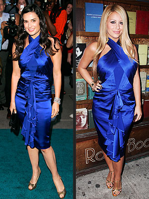 DEMI VS. AUBREY photo | Demi Moore
