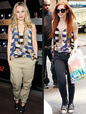 KRISTEN VS. ASHLEE  photo | Ashlee Simpson, Kristen Bell