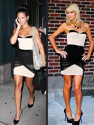 RIHANNA VS. PARIS  photo | Paris Hilton, Rihanna