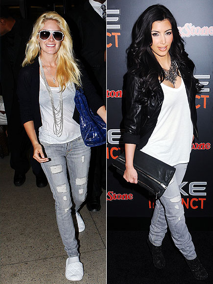 HEIDI VS. KIM  photo | Heidi Montag, Kim Kardashian