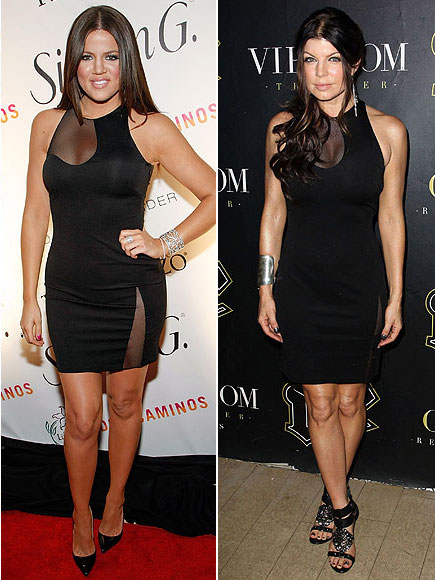 KHLOE VS. FERGIE  photo | Fergie, Khloe Kardashian