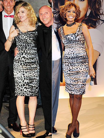 MADONNA VS. WHITNEY  photo | Madonna, Whitney Houston