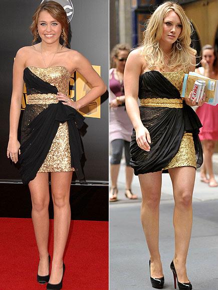 MILEY VS. HILARY photo | Hilary Duff, Miley Cyrus