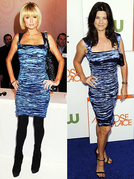 PARIS VS. DAPHNE photo | Daphne Zuniga, Paris Hilton