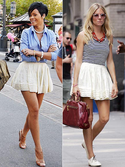 RIHANNA VS. SIENNA photo | Rihanna, Sienna Miller