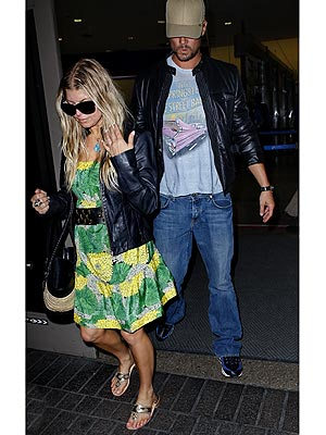 FERGIE AND JOSH DUHAMEL photo | Fergie