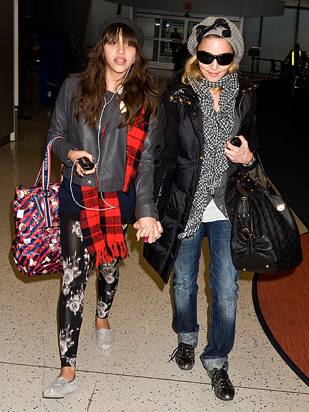 MADONNA photo | Airport Style, Madonna