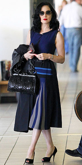 DITA VON TEESE photo | Airport Style, Dita Von Teese