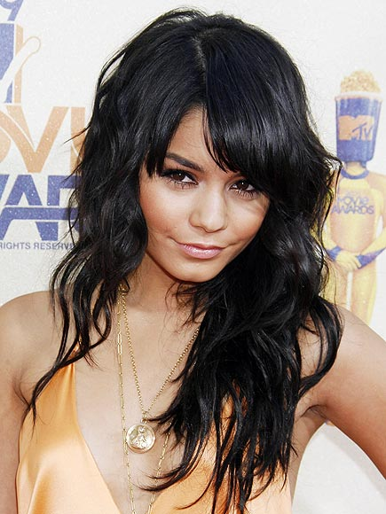 Vanessa Hudgens Bangs Haircut. vanessa hudgens people