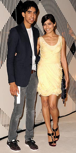 FREIDA PINTO AND DEV PATEL photo | Dev Patel, Freida Pinto