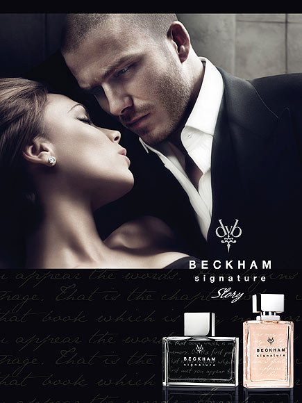 DAVID & VICTORIA BECKHAM: SIGNATURE STORY FOR HIM & FOR HER photo | David Beckham