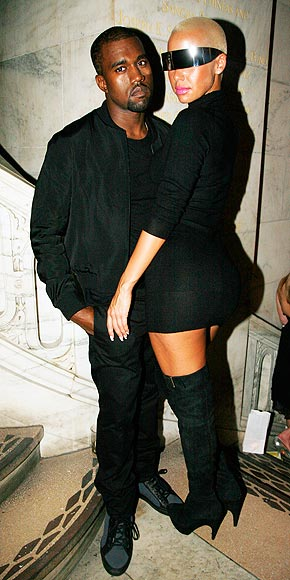 KANYE WEST & AMBER ROSE photo | Kanye West