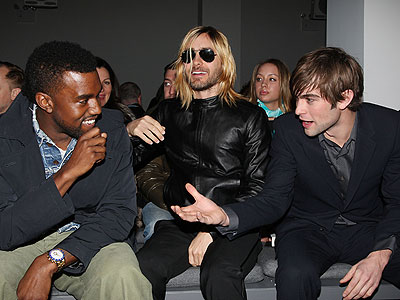 KANYE, JARED AND CHACE  photo | Chace Crawford, Kanye West