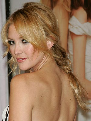 side swept fringe. Kate Hudson Side Swept bangs