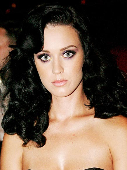 PURPLE AND GOLD EYES  photo | Katy Perry