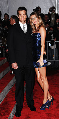 TOM BRADY AND GISELE B&#220;NDCHEN photo | Gisele Bundchen, Tom Brady