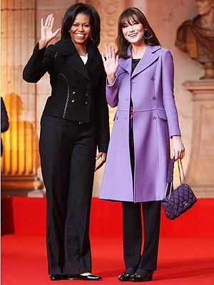 TRAVELING PANTS photo | Michelle Obama