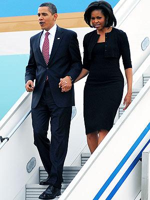 LANDING GEAR photo | Barack Obama, Michelle Obama