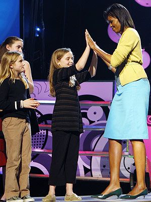 KID'S INAUGURAL CONCERT  photo | Michelle Obama