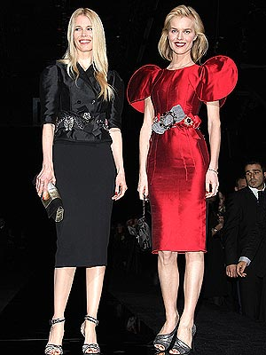 CLAUDIA AND EVA photo | Claudia Schiffer
