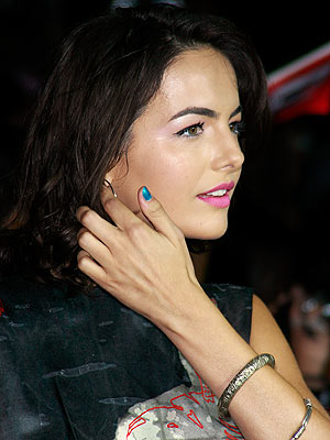 TEAL TIPS photo | Camilla Belle