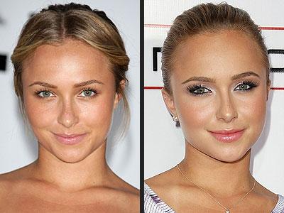 человеческое лицо для нанесения макияжа фотография.