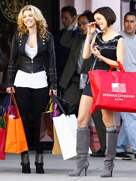 ANNALYNNE & JESSICA photo | AnnaLynne McCord, Jessica Lowndes