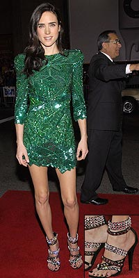 JENNIFER'S BALMAIN SANDALS photo | Jennifer Connelly