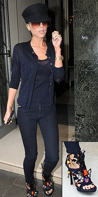 POSH'S LOUIS VUITTON SANDALS photo | Victoria Beckham