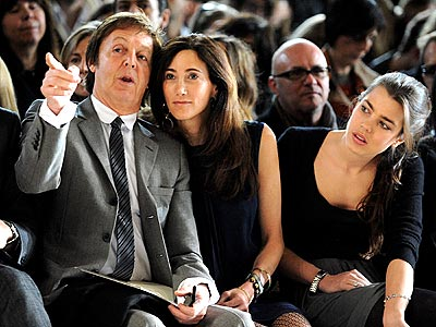 PAUL MCCARTNEY  photo | Charlotte Casiraghi, Paul McCartney