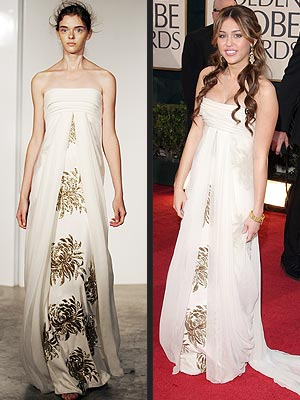 MILEY CYRUS IN MARCHESA  photo | Miley Cyrus