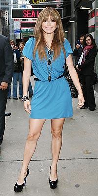 LONG STATEMENT NECKLACES photo | Jennifer Lopez