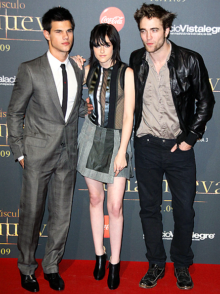 MADRID photo | Kristen Stewart, Robert Pattinson, Taylor Lautner