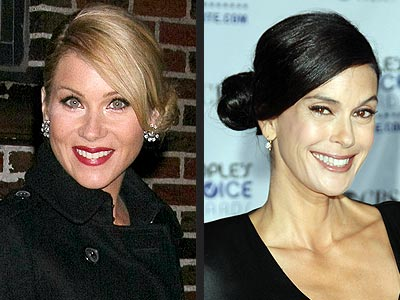 SIDE BUNS photo | Christina Applegate, Teri Hatcher