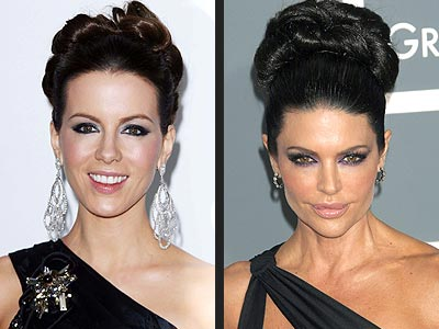 CHIGNONS photo | Kate Beckinsale, Lisa Rinna