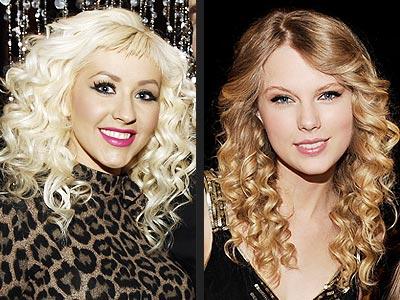 RINGLETS photo   Christina Aguilera, Taylor Swift