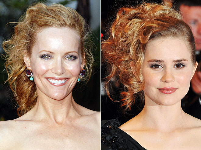 ASYMMETRICAL CURLS photo | Alison Lohman, Leslie Mann