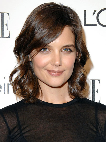 TOUSLED BOBS photo | Katie Holmes