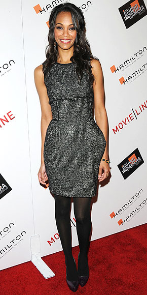 SUITING DRESSES photo | Zoe Saldana