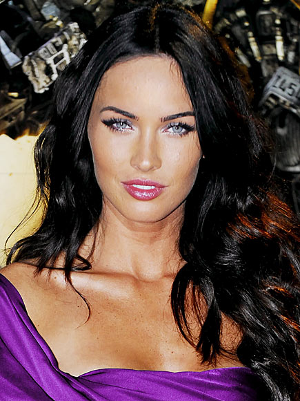 megan fox makeup how to. Megan Fox Without Makeup: